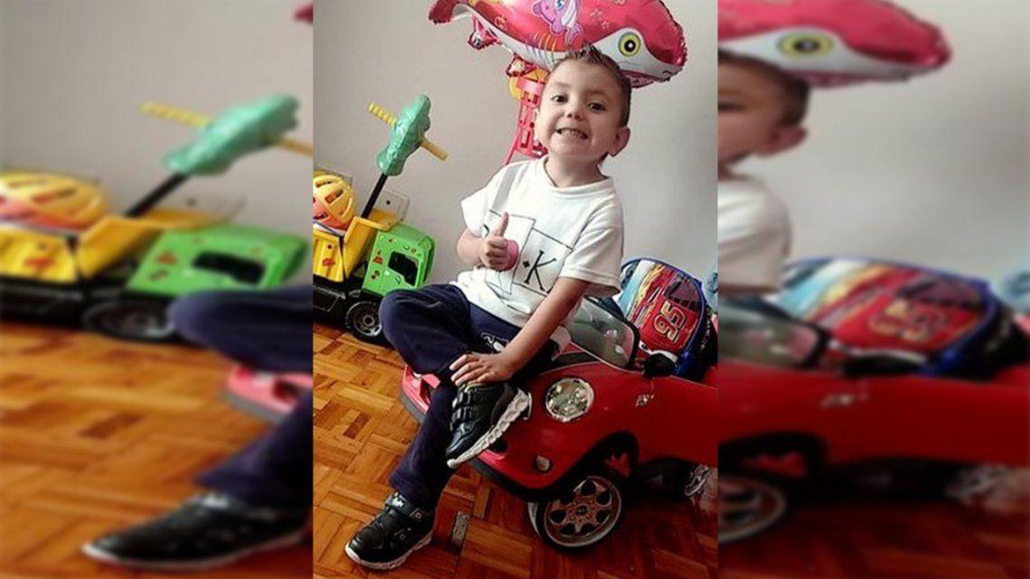 Ciro tiene 4 años y espera un trasplante de corazón.