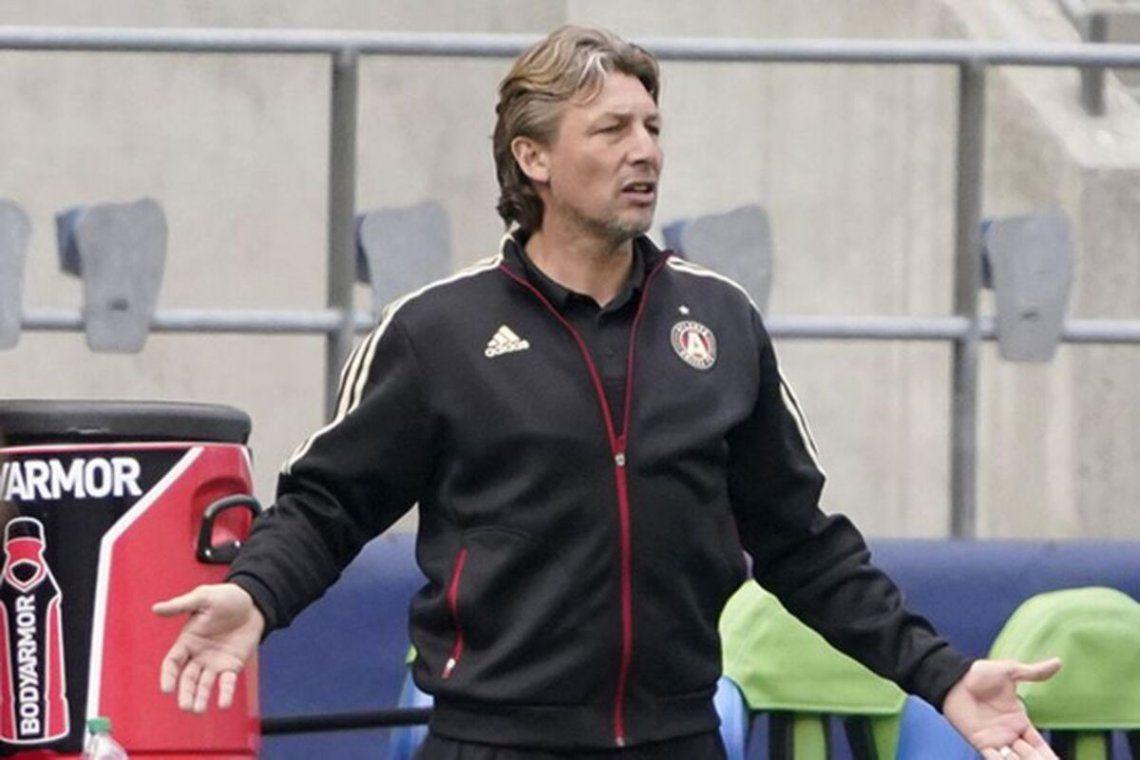 Gabriel Heinze fue despedido de Atlanta United.