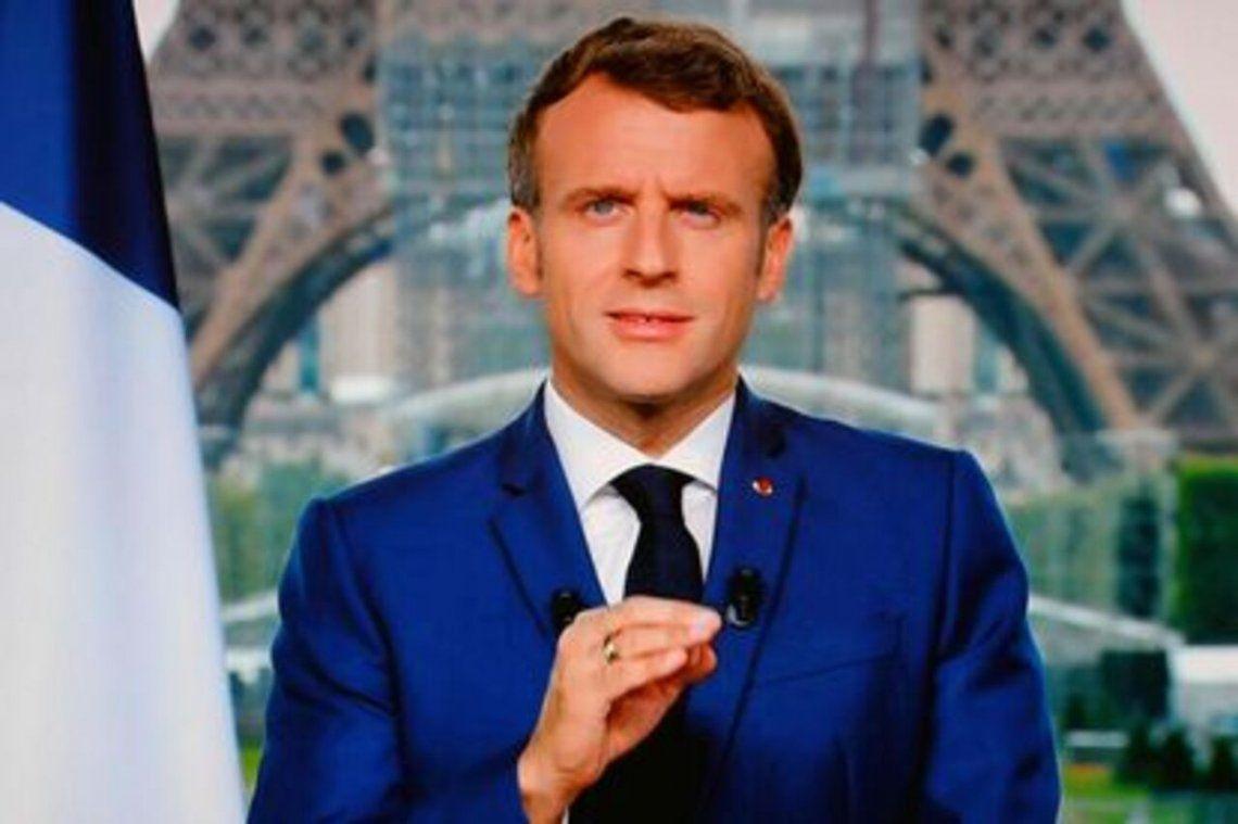 Emmanuel Macron frente a los nuevos anuncios: Esta vez se queda usted en casa