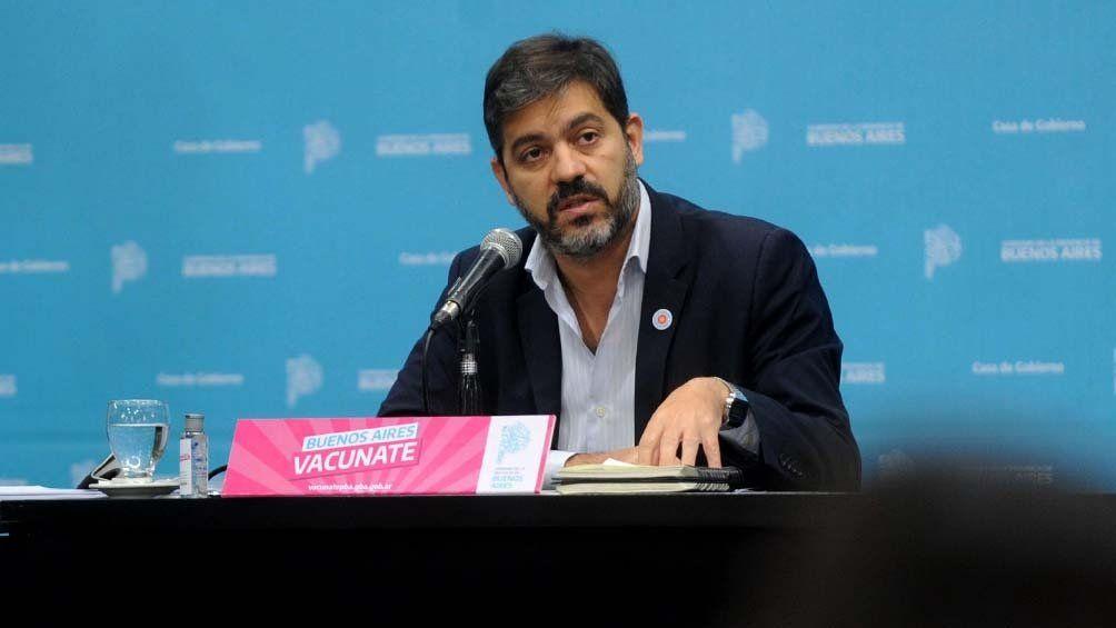 El jefe de Gabinete de la provincia de Buenos Aires