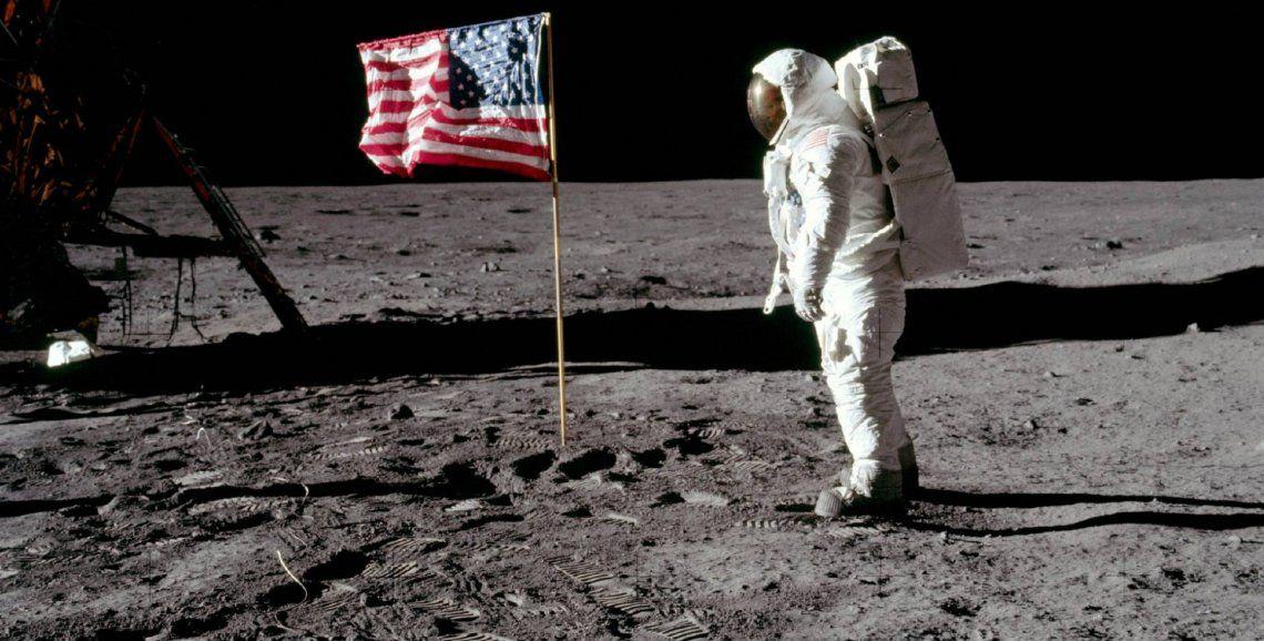 El 20 de julio de 1969 la misión norteamericana Apolo 11 colocó a los primeros hombres en la Luna