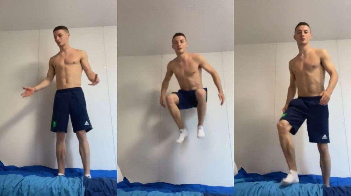 Juegos Olímpicos: un atleta probó las camas antisexo