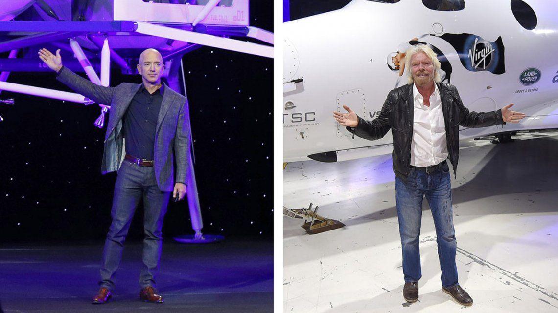 Caen las acciones de Virgin Galactic tras vuelo de Jeff Bezos.