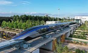 China: un tren alcanza los 600 kilómetros por hora
