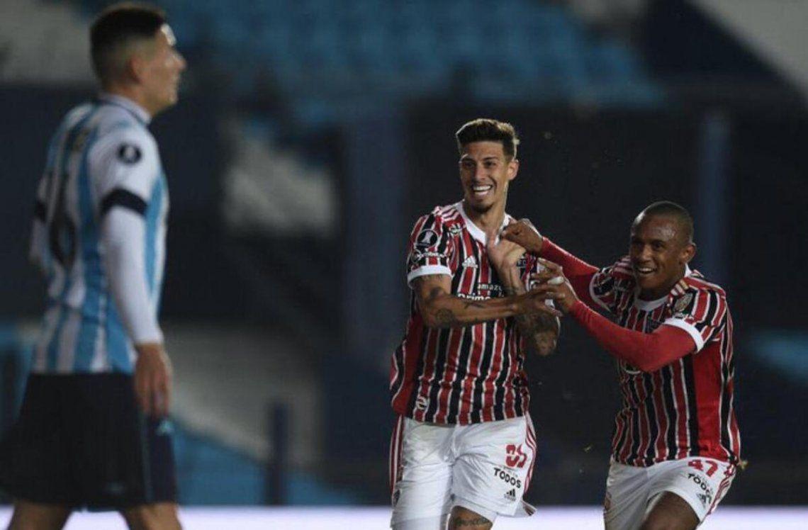 San Pablo eliminó a Racing de la Copa Libertadores.