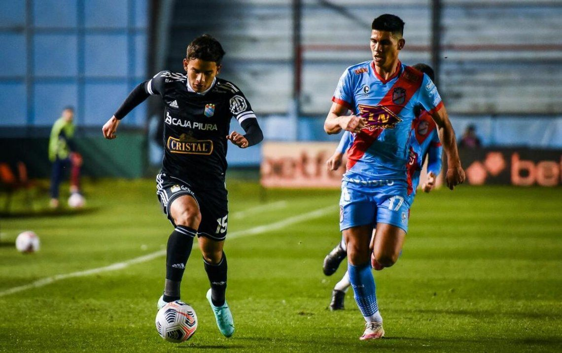 Sporting Cristal avanzó a los cuartos de final de la Sudamericana.