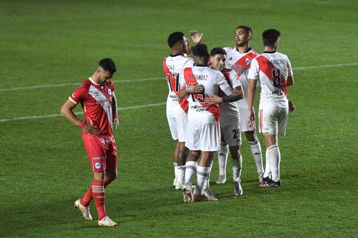 En fotos: la noche de los equipos argentinos en Copa Libertadores