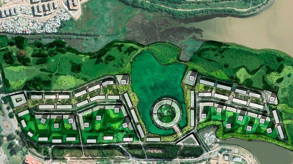 Costanera Sur: comienza a tratarse el proyecto de construcción de conglomerado de edificios