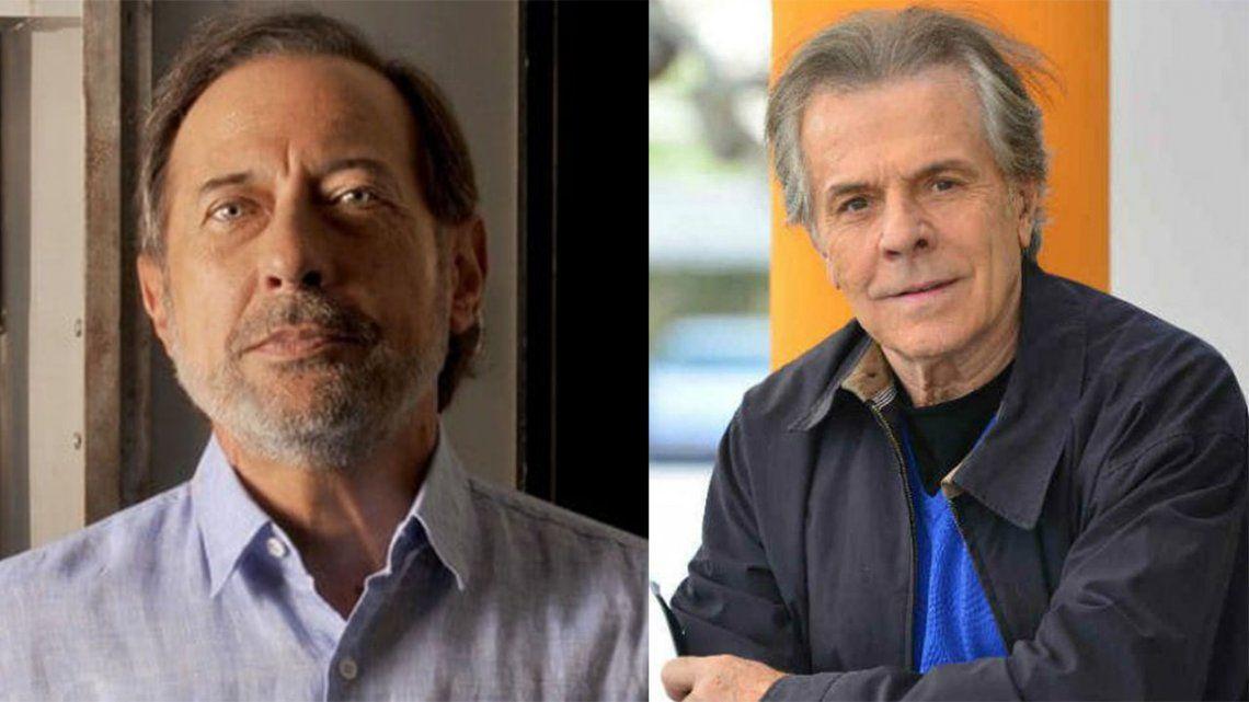 Guillermo Francella y Víctor Laplace tienen covid.