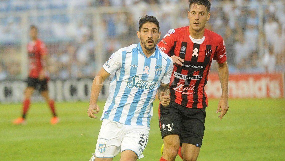 Cristian Erbes aporta seguridad al mediocampo de Atlético Tucumán