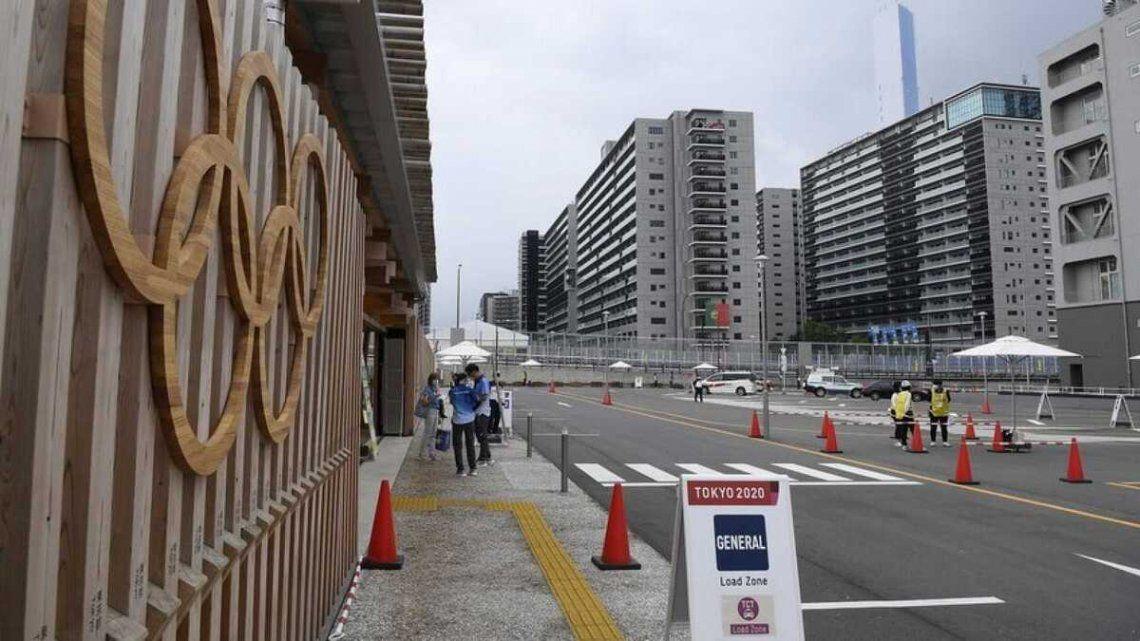 Brote de coronavirus en la Villa Olimpica de Tokio.