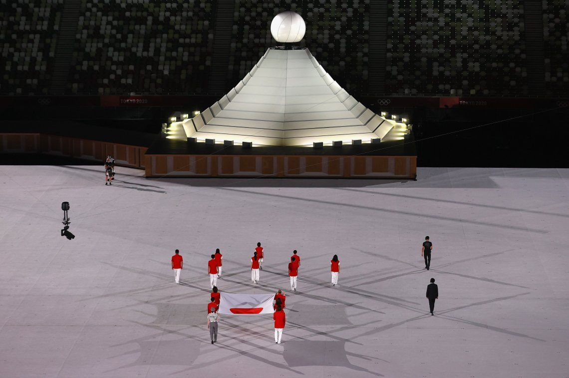 Juegos Olímpicos Tokio 2020: las mejores imágenes de la ceremonia inaugural