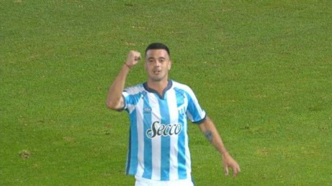 Carrera anotó el gol de Atlético Tucumán.