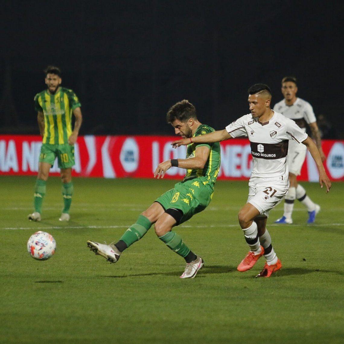 Aldosivi derrotó a Platense.