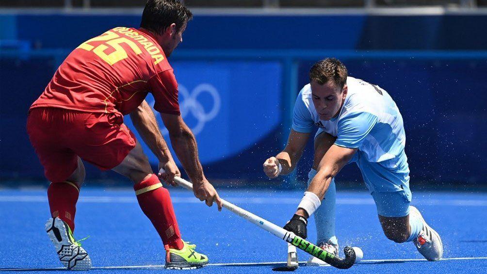 España y Argentina no se sacaron diferencias en el arranque del grupo A de Tokio 2020.