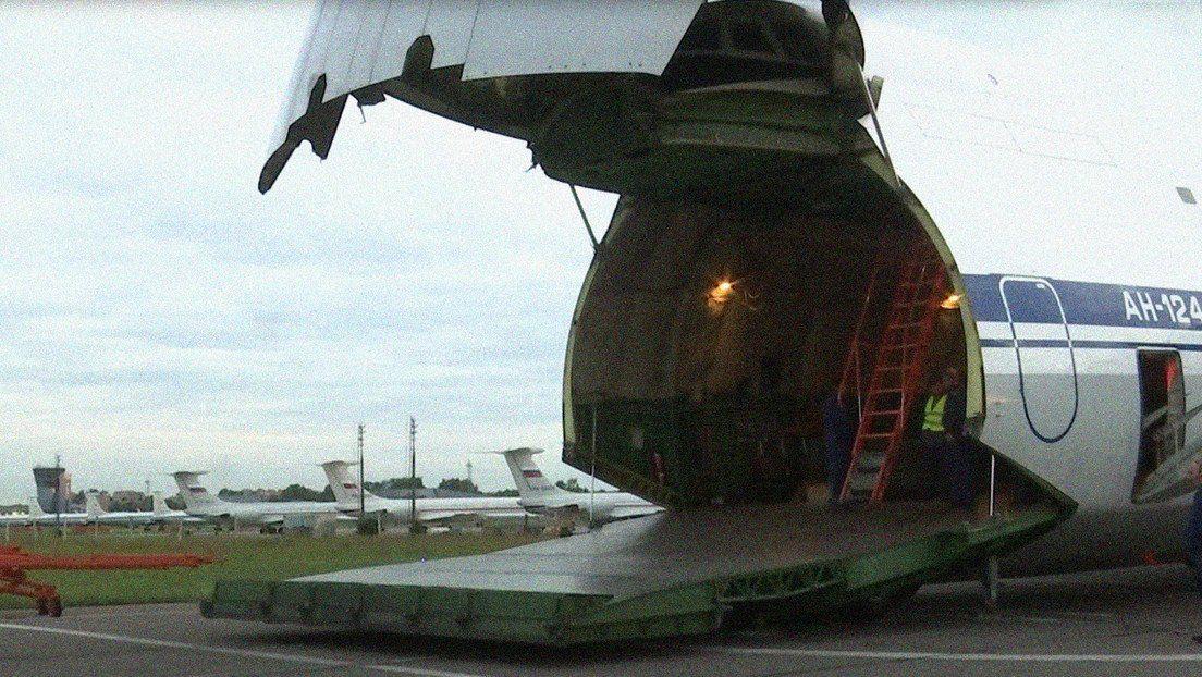 El gobierno de Vladimir Putin decidió enviar ayuda al regimen cubano para combatir el impacto del Covid-19.