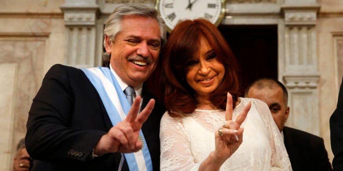 Cristina Kirchner y Alberto Fernández presentan la lista de precandidatos del FdT de la provincia de Buenos Aires
