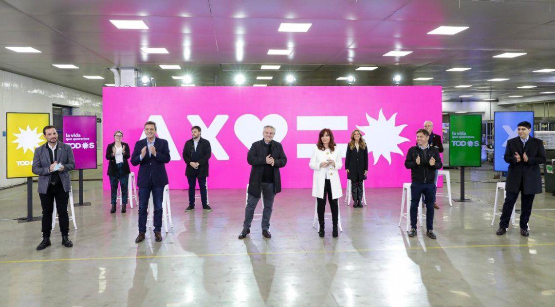 El Frente de Todos presentó sus candidatos en la Provincia de Buenos Aires