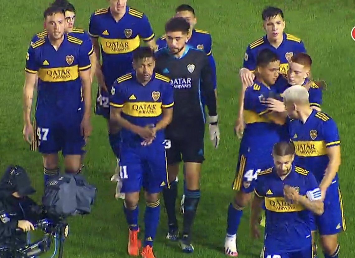 Hazaña de Los pibes de Boca: igualaron 0-0 con Banfield