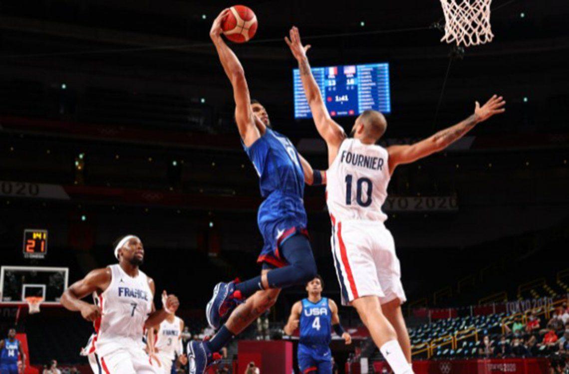 Juegos Olímpicos Tokio 2020: Evan Fournier fue uno de los jugadores más importantes del conjunto francés.