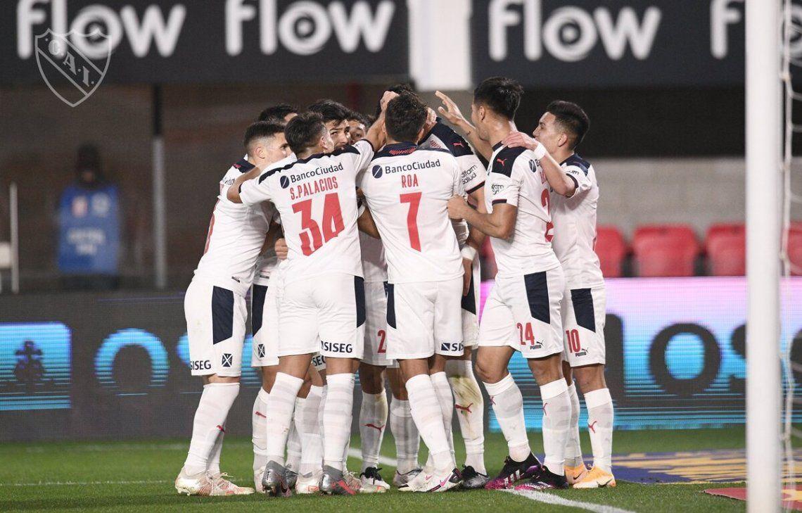 Independiente venció al equipo de Zielinski.