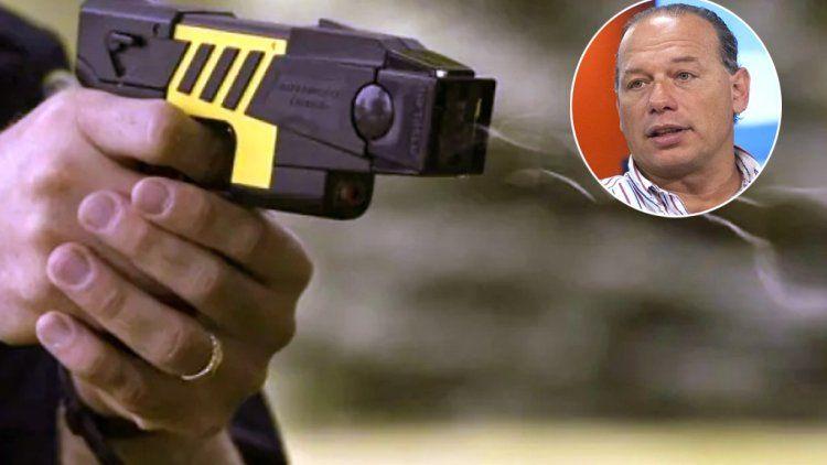 Lo de Chano se podría haber evitado con el uso de la pistola Taser