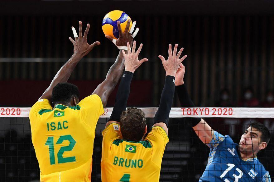 Juegos Olímpicos Tokio 2020: la Selección Argentina de vóley cayó 3-2 con Brasil