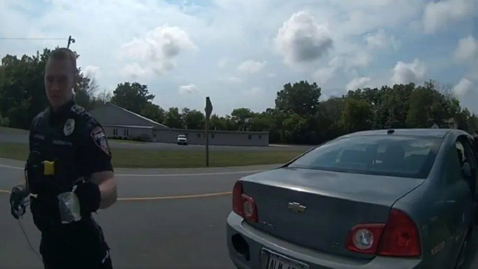 Polémica con un policía.