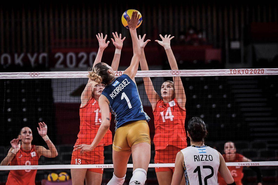 Juegos Olímpicos Tokio 2020: Las Panteras cayeron ante Rusia.