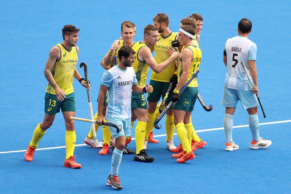 Juegos Olímpicos Tokio 2020: duro traspié para Los Leones frente a Australia.