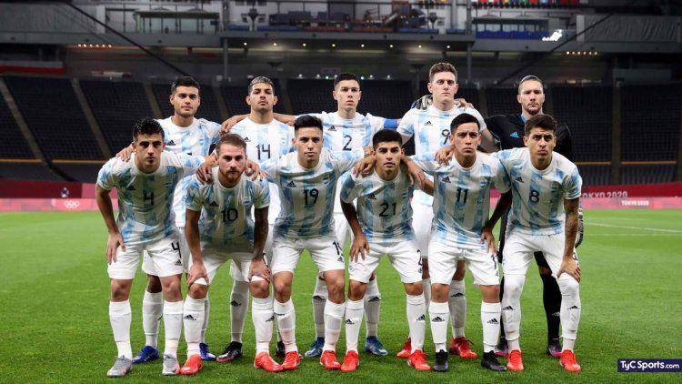 Mañana miércoles a las 8 de la mañana de Argentina será el turno de la Selección de Fútbol Masculino.