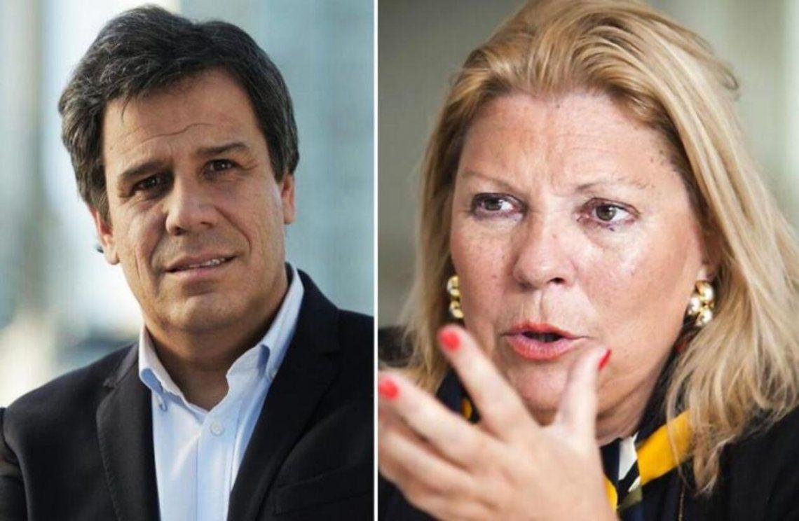 Facundo Manes atacado/ayudado por Elisa Carrió