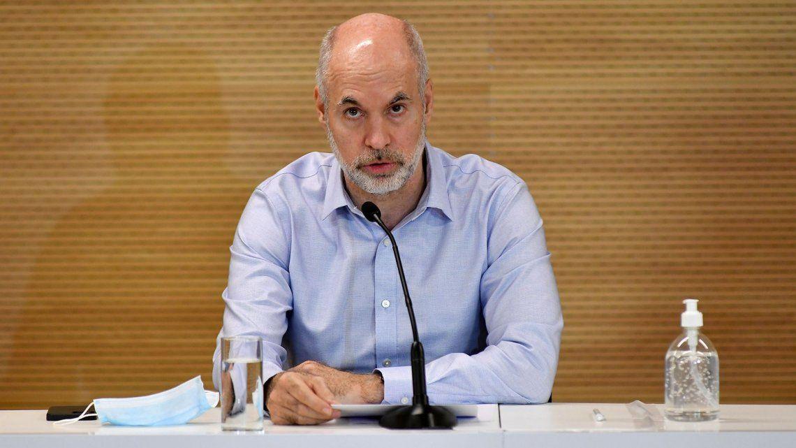 Rodríguez Larreta escapó a confrontar con Facundo Manes