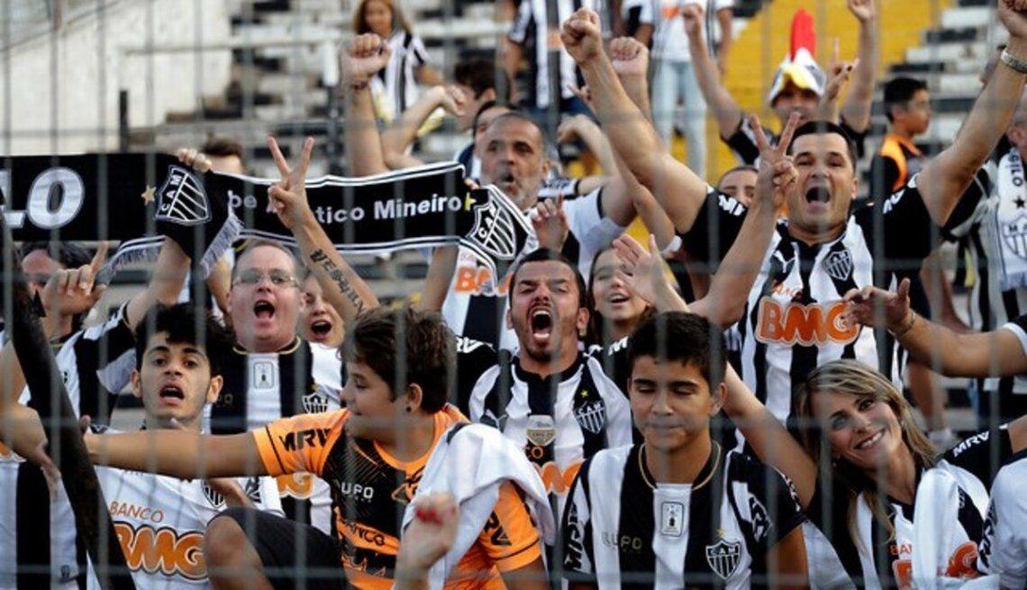 Habrá hinchas de Mineiro en la revancha con River que se jugará en Brasil