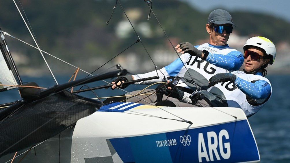 Juegos Olímpicos de Tokio 2020: buen debut y performance de los argentinos en Vela