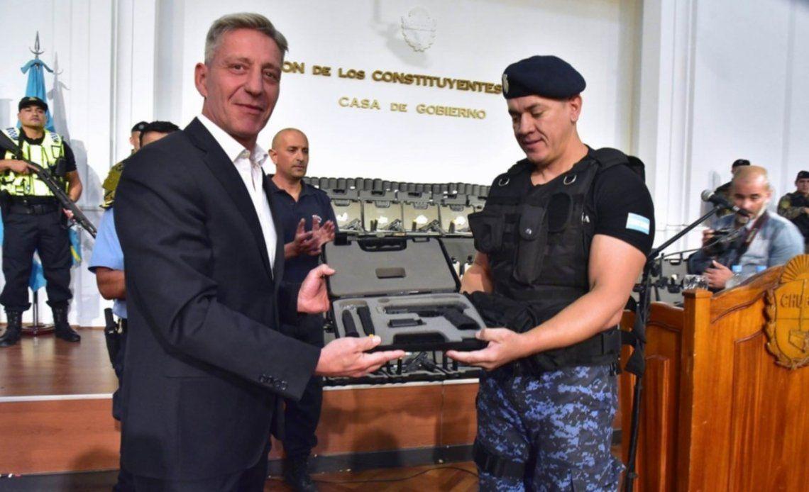 Chubut: Mariano Arcioni y un comando de la Policía provincial