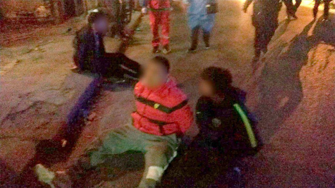 Detuvieron a tres jóvenes luego de una persecución policial.