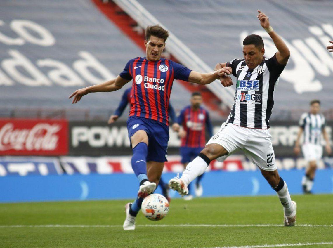 Central Córdoba cayó ante San Lorenzo en la última fecha