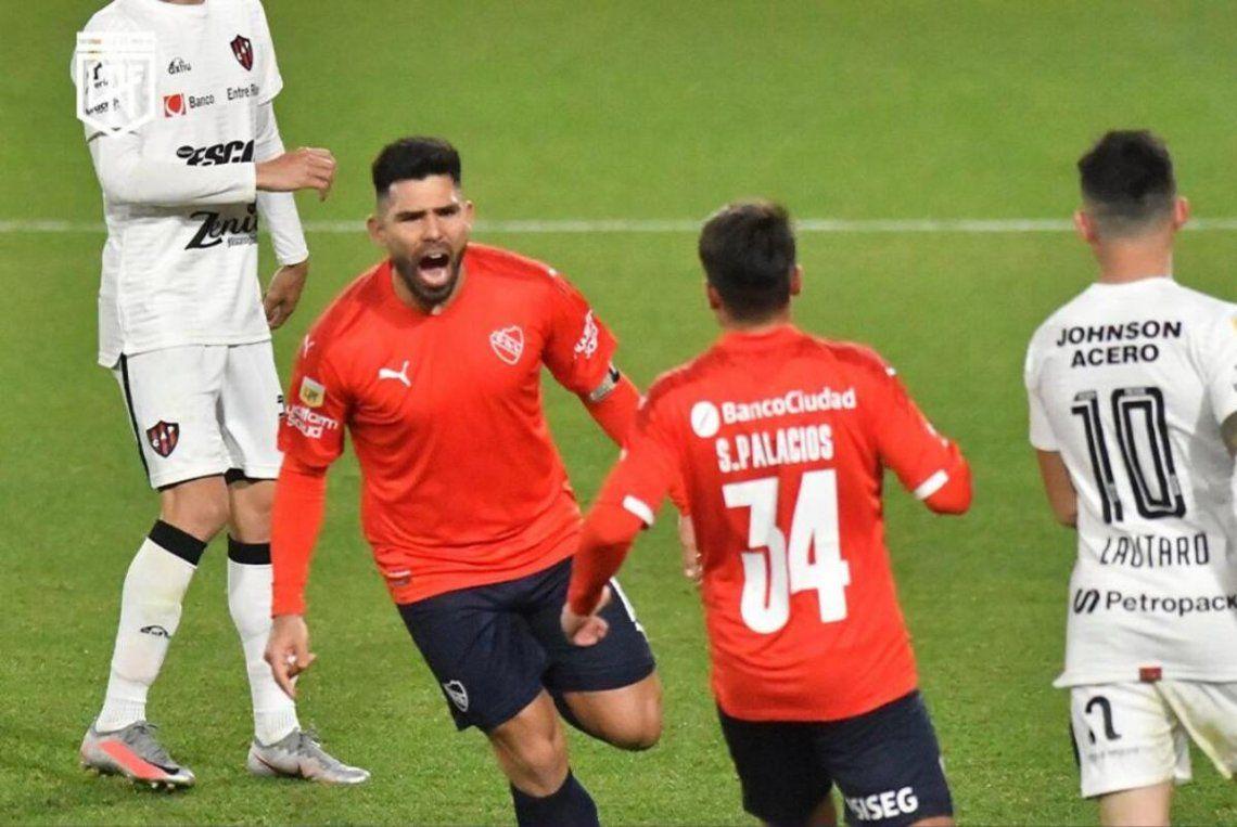 Independiente venció 2-0 a Patronato.