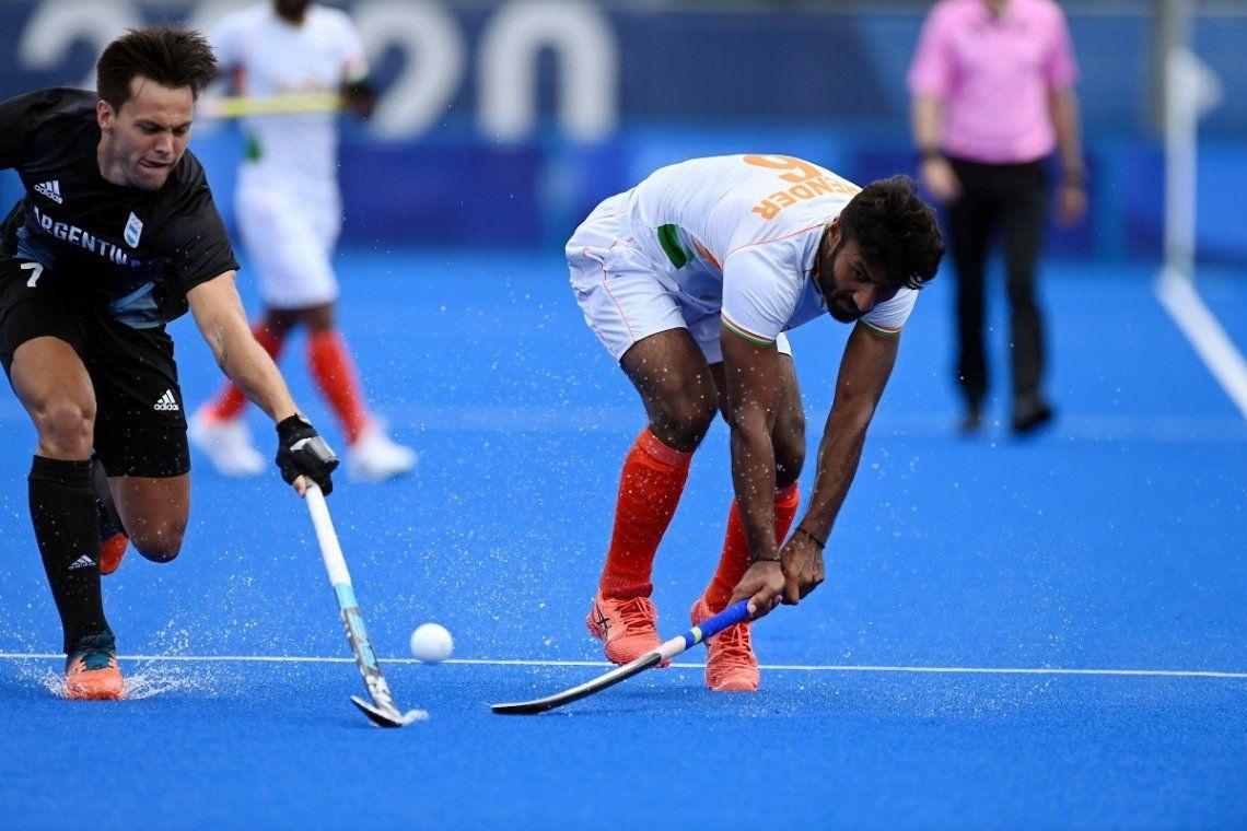 Caída de Los Leones ante India en los Juegos Olímpicos