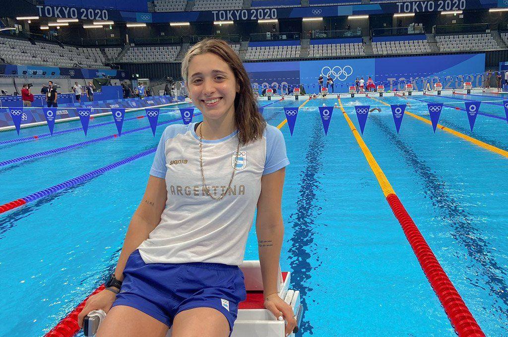 Delfi Pignatiello cerró este jueves su primera participación en unos Juegos Olímpicos.