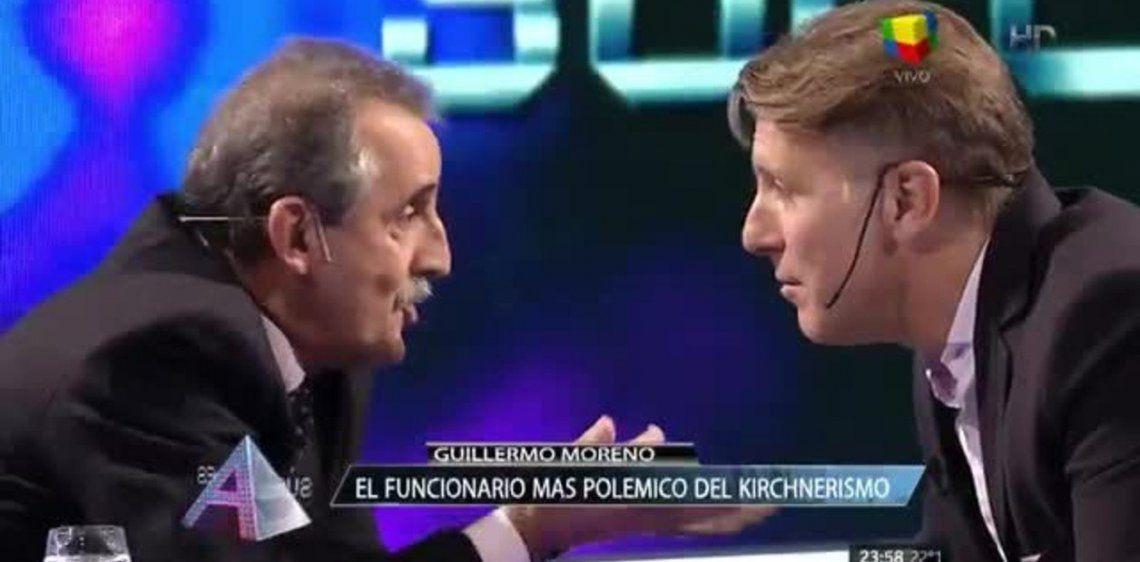 Guillermo Moreno y Alejandro Fantino