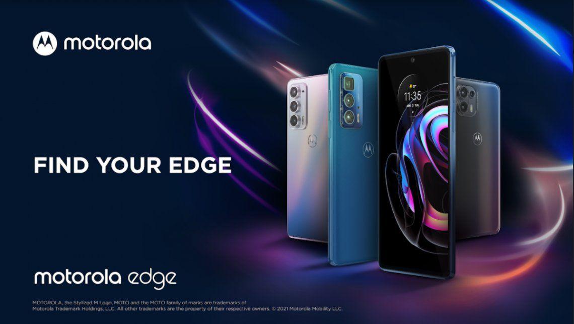 Motorola presentó su nuva línea de moto Edge
