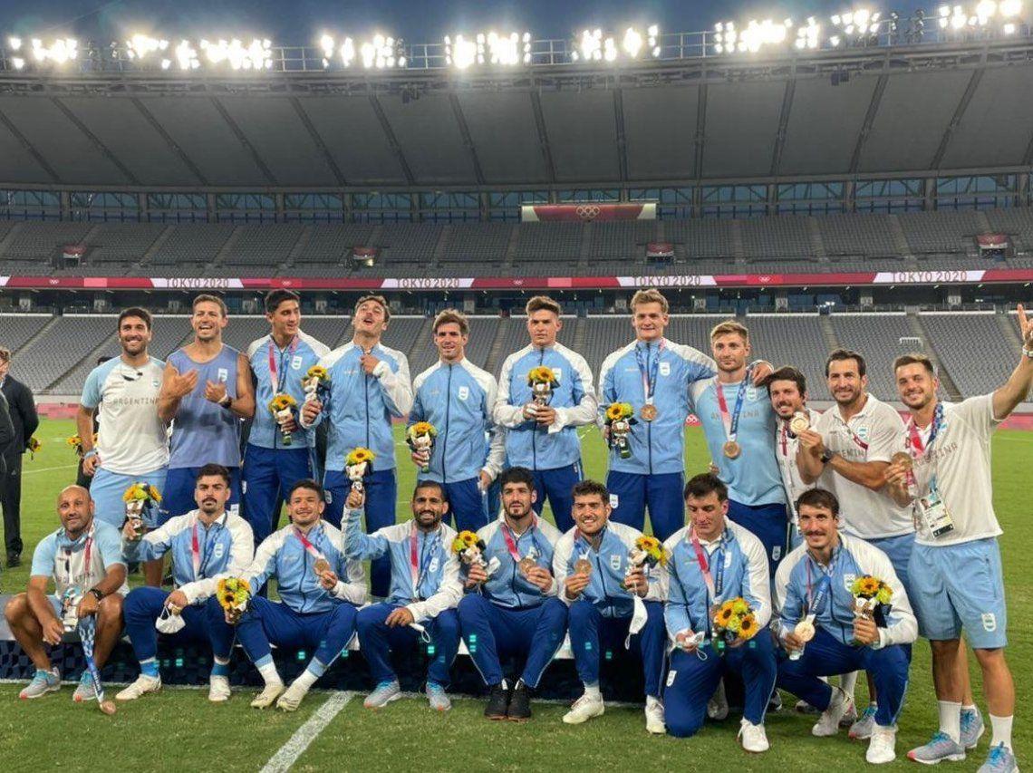 Los Pumas vienen de ganarle a Gran Bretaña en el partido por el tercer puesto.
