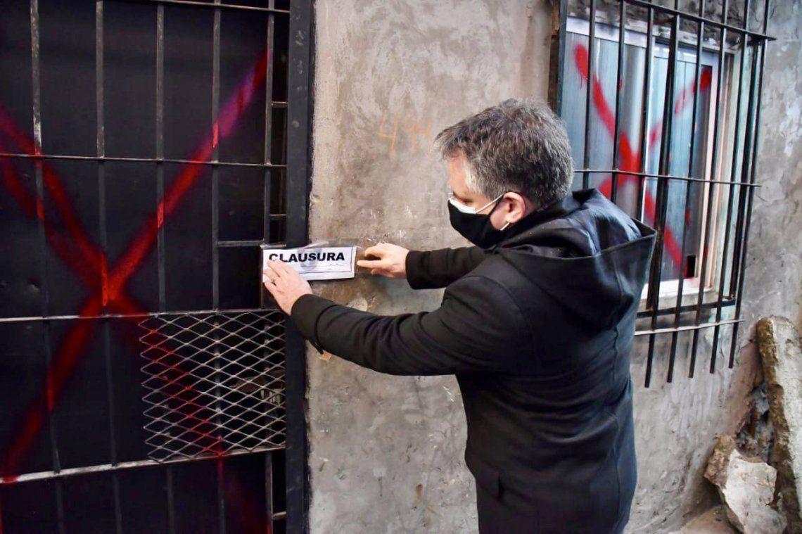 Marcelo D´Alessandro encabezó el operativo.