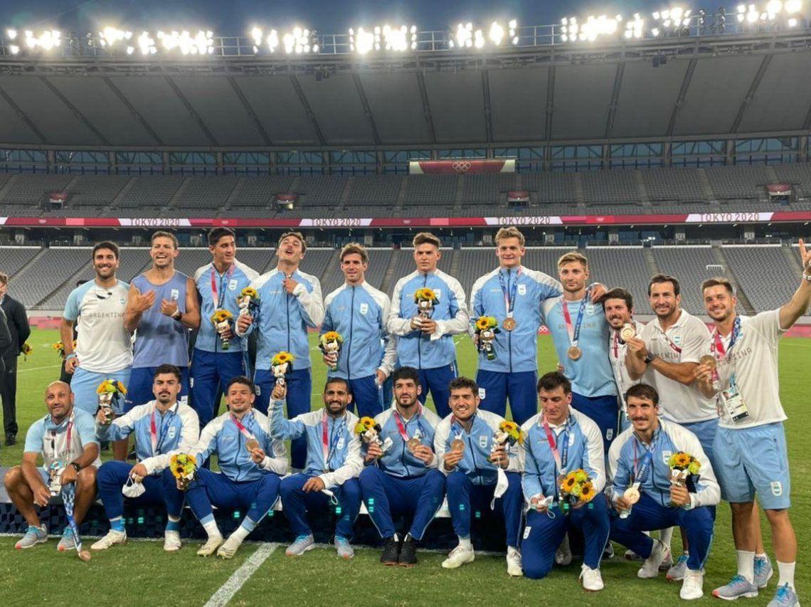 Los Pumas podrán volver al país después de ganar la medallla de bronce en los Juegos Olímpicos Tokio 2020