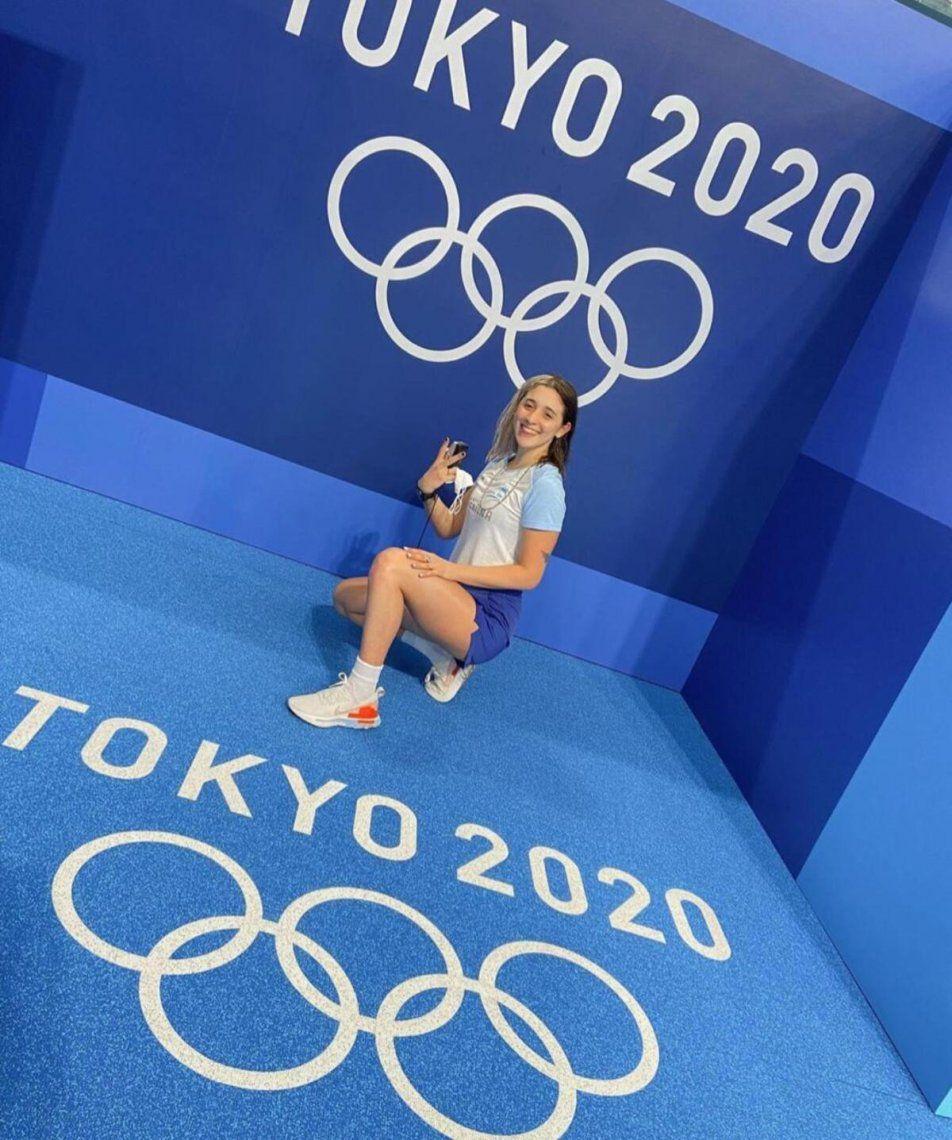 Delfi Pignatiello y su paso por los Juegos Olímpicos de Tokio 2020