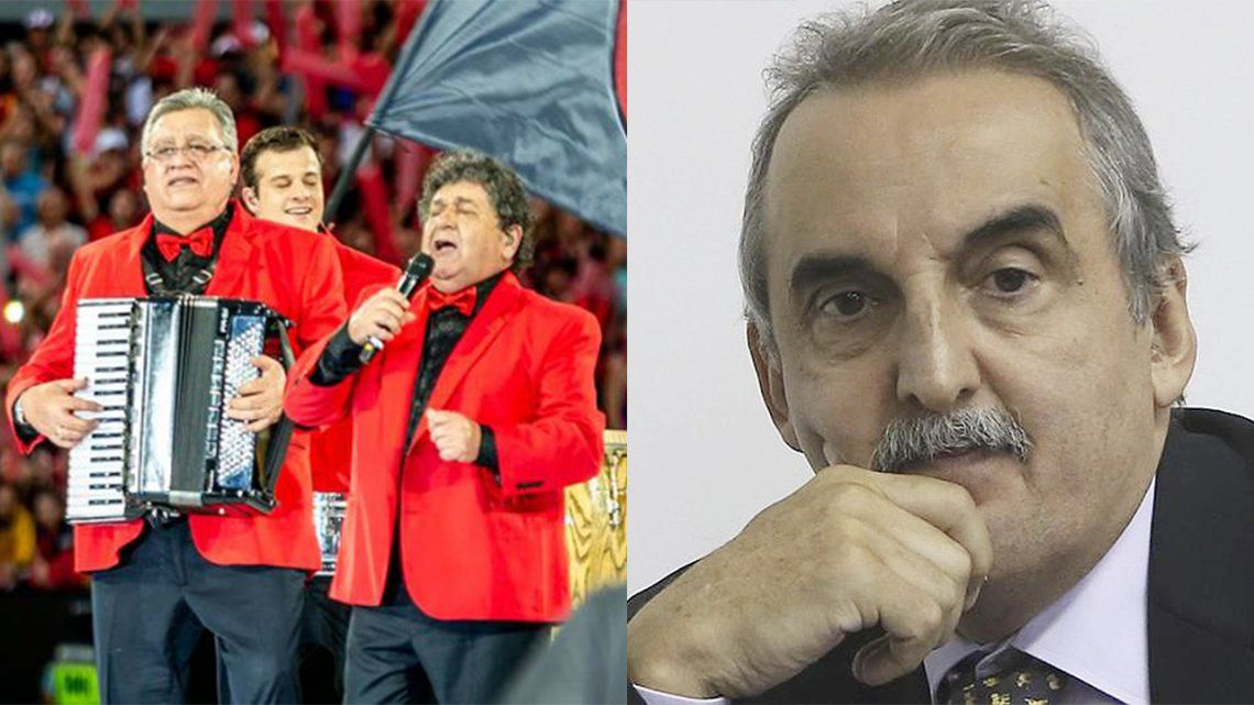 Los Palmeras denunciaron a Guillermo Moreno por usar su tema en un spot político.