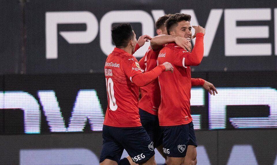 Independiente llega de vencer a Patronato.