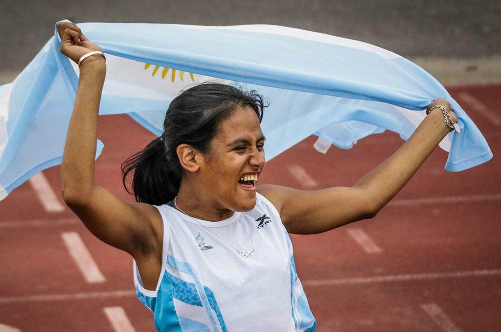 Yanina Martínez será abandera en la inauguración de los Paralímpicos.